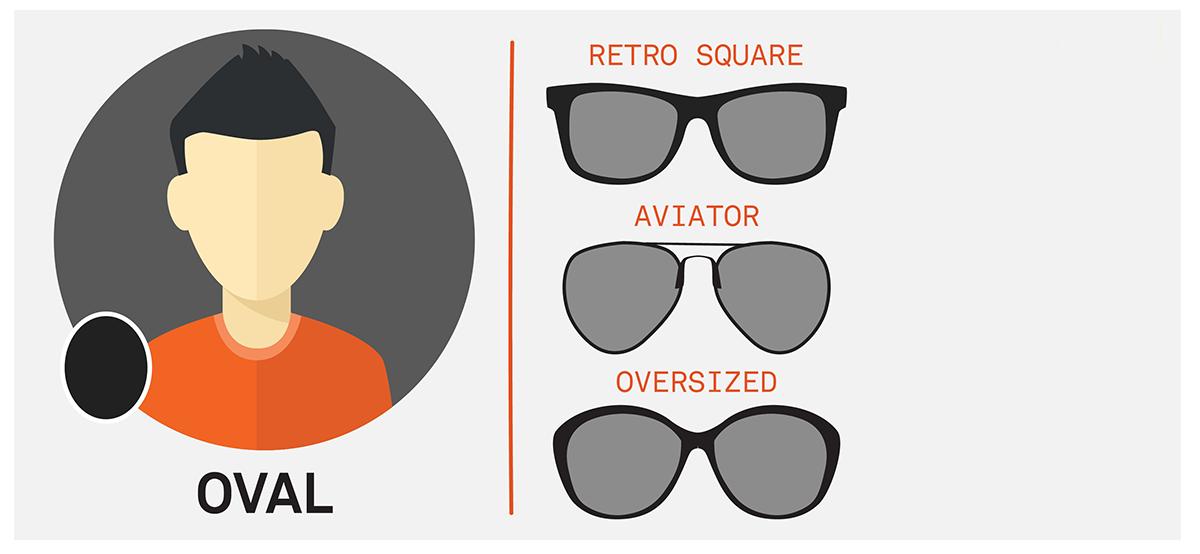 ochelari de soare forma fetei ovala