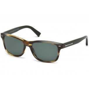 Ochelari de soare - Ermenegildo Zegna - EZ0001 - Havana